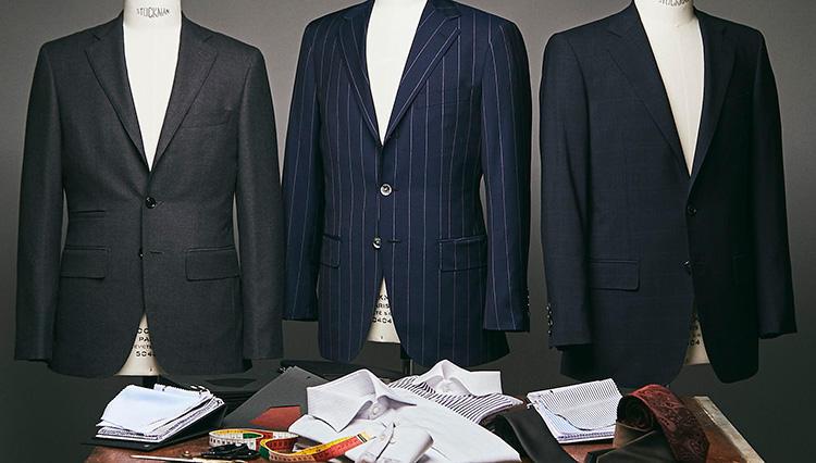「アンダー5万円」から「自分のスタイル」に合ったスーツがオーダーできる! /タカシマヤ スタイルオーダー サロン