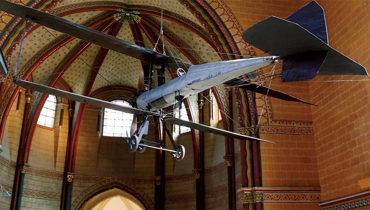 パリの工芸博物館(アール・ゼ・メチエ)にはブレゲの飛行機が!