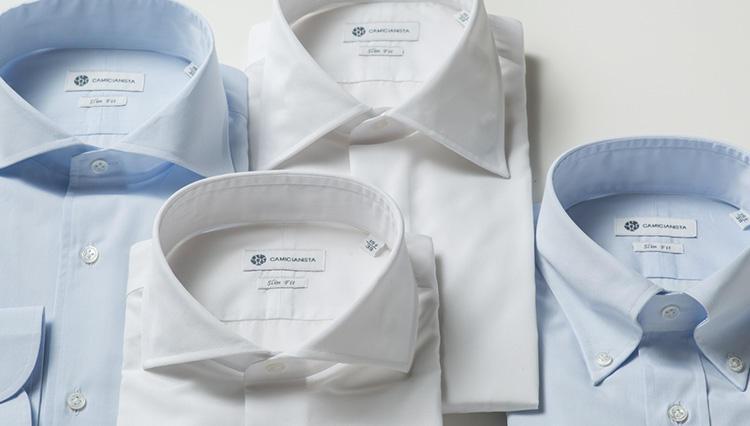 「ジャスト5000円」でスーツの胸元が格段に決まる、即戦力のシャツとは——?【カミチャニスタの魅力#1】