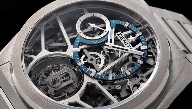 時計内部が重力ゼロの世界に!? ゼニスが生んだ新たなるレジェンドウォッチ【BASEL2018新作】