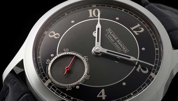 日本を代表する独立時計師ハジメ アサオカのアカデミーデビュー作に新文字盤が登場【BASEL2018新作】