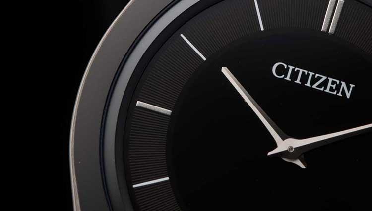 シチズンが誇る世界最薄の光発電ウォッチ、時計史上初の超硬質素材を採用!【BASEL2018新作】