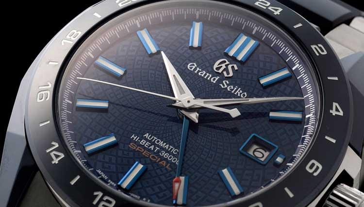 こんなの初めて! ブルーセラミックでエッジィな印象を得たグランドセイコーの限定GMT【BASEL2018新作】