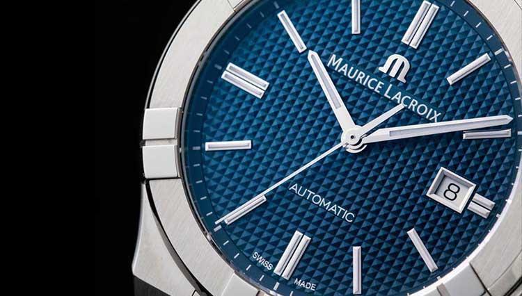 仕事スタイルに似合う腕時計、モーリス・ラクロアの「アイコン」に待望の自動巻き登場【BASEL2018新作】