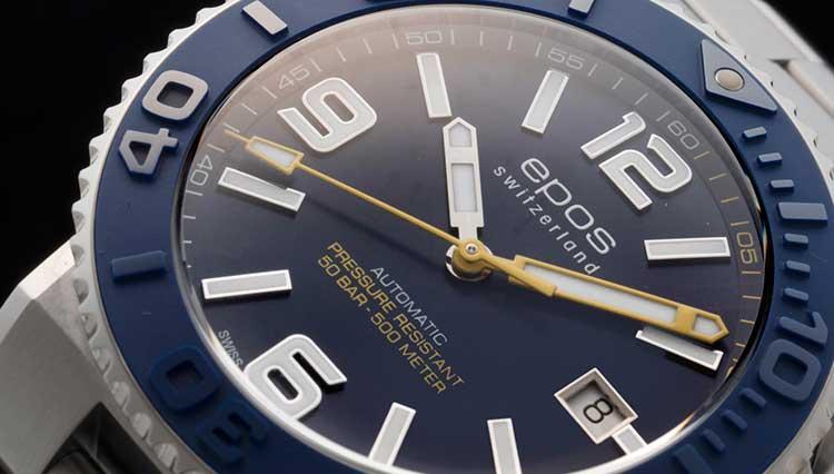 夏が来る! エポスの500m防水本格ダイバーズウォッチが10万円台前半で買える【BASEL2018新作】