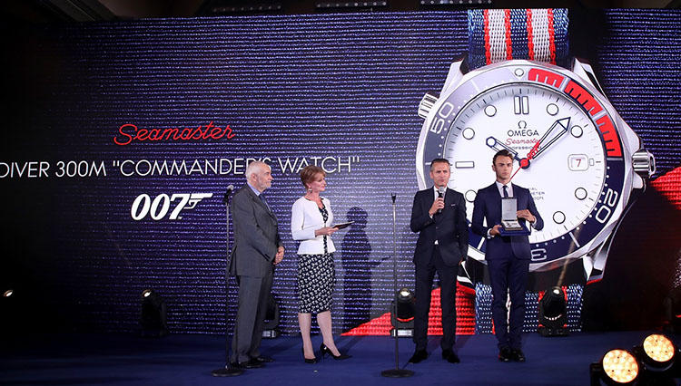 """オメガ シーマスター 007限定 """"コマンダー"""" ウォッチ、世界同時に発売開始!"""