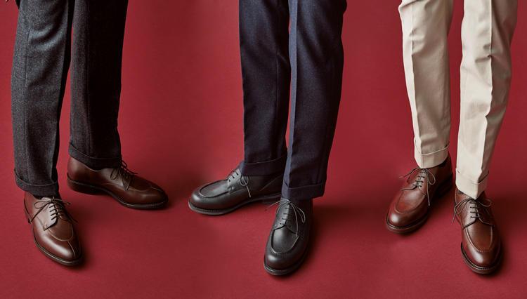 普段ジャケパンが主体なら、靴はUチップが万能と心得よ【今必要な本格靴決定版。】