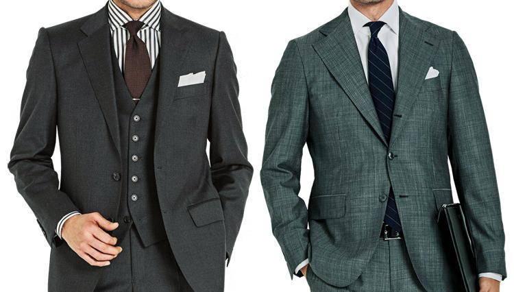 「男を磨くのにこれ以上ない服。」——歴代の洒落者が愛したスーツは、ズバリ何色?
