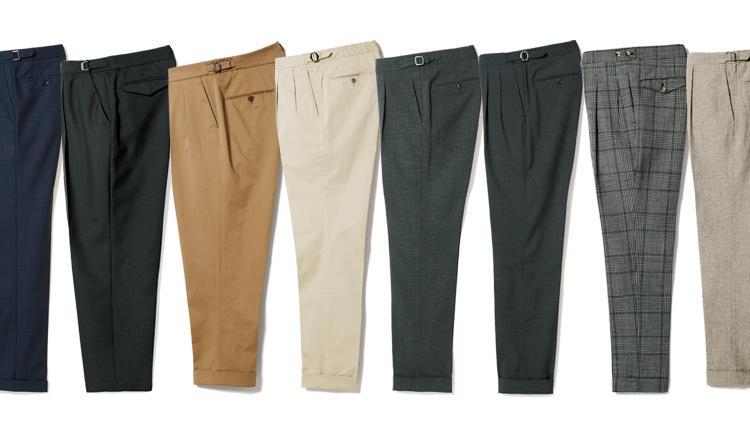 「この春、買うべきクラシックパンツ」厳選8ブランドを履き比べ徹底検証!