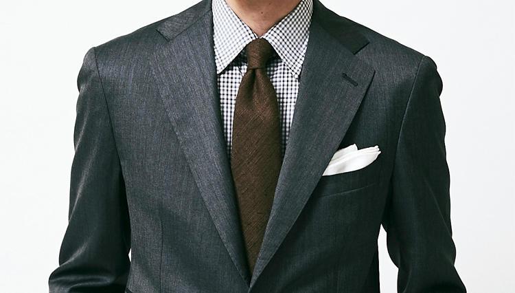 ギンガムチェックシャツは、スーツにこんな好印象をもたらしてくれる!