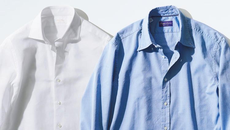 ビジネスでも「シャツ一枚で決まる」のは、こんなテイスト!