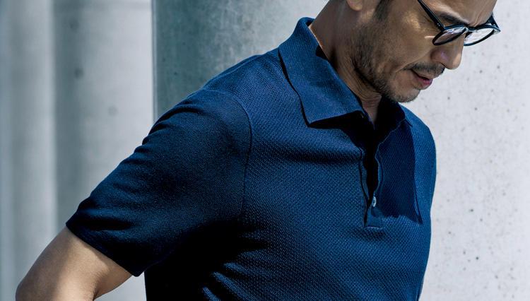 「仕事で着るポロシャツ」、一枚でも上品に見えるのはこんな素材!
