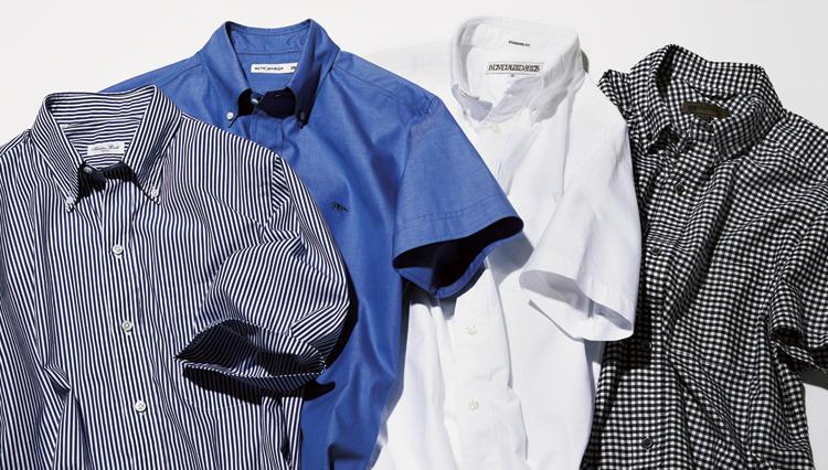 半袖シャツ姿がダサく見えてしまう原因は? 解決策はドレス感のあるカジュアルボタンダウン!