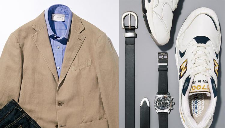 装い別「靴&時計&ベルト」相性が良いのはどれだ!? 【きれいめデニム通勤の場合】
