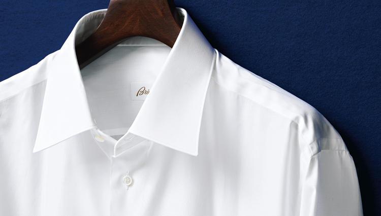 ブリオーニの白シャツ、「300双」ポプリンの実力とは——?