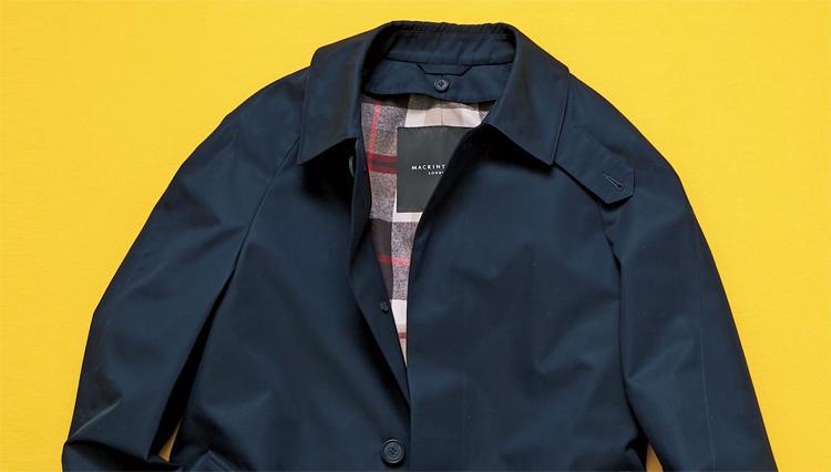 「マッキントッシュ ロンドン」のギャバジン330製コートは、何故、通常より2.5倍の耐水性があるのか?