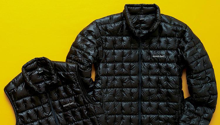 モンベル「プラズマ1000」ダウンジャケット&ベストのフィルパワー数&軽さに驚き!