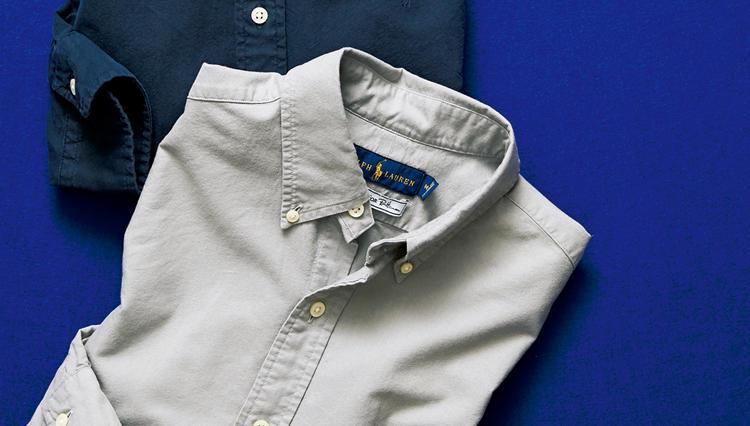 「ポロ ラルフ ローレン」のオックスフォードシャツ、通常よりシックに見える秘密はココにあった!