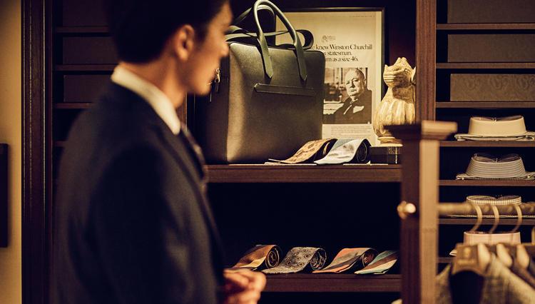 ビジネスを円滑にする!「ワンランクUP」のスタイルは阪急メンズ東京で見つけよう
