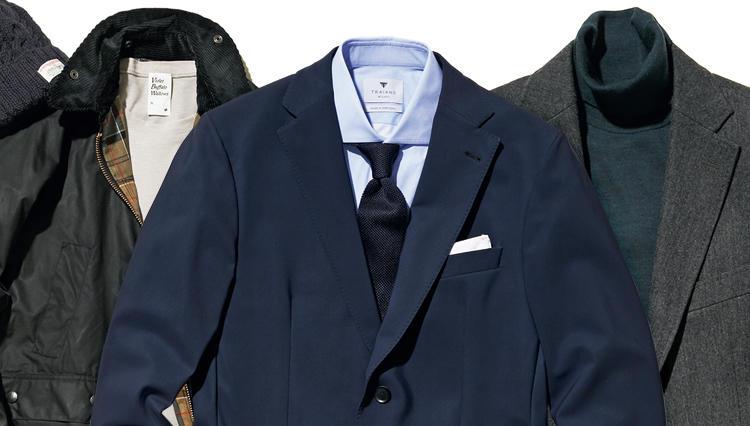 「1着で全日対応できる」のは、こんなセットアップスーツ!