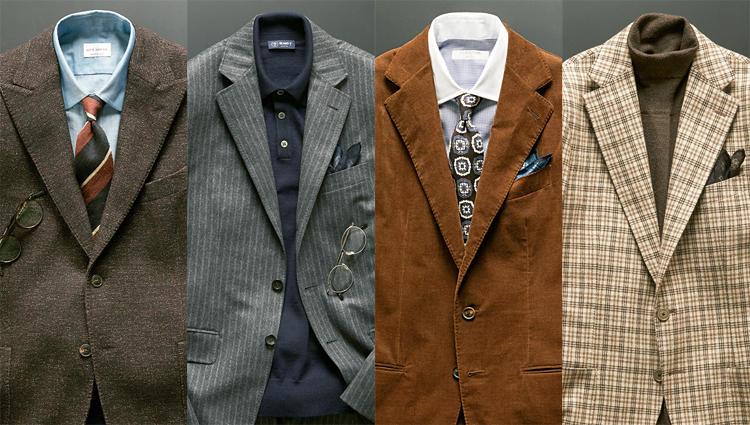 M.E.編集部員が惚れた「Art」な既製スーツ&ジャケットはコレだ!