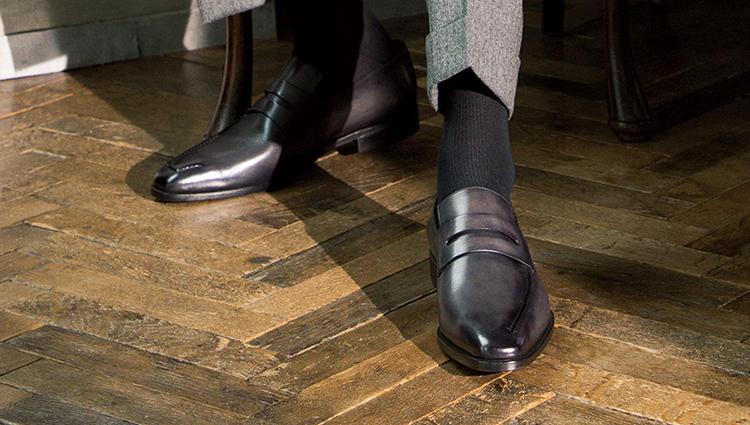 革を優雅に纏うベルルッティの靴 ー 王道の男、本物をシコウする