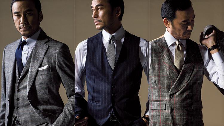 英国的3ピーススーツを、今流に着るコツは?