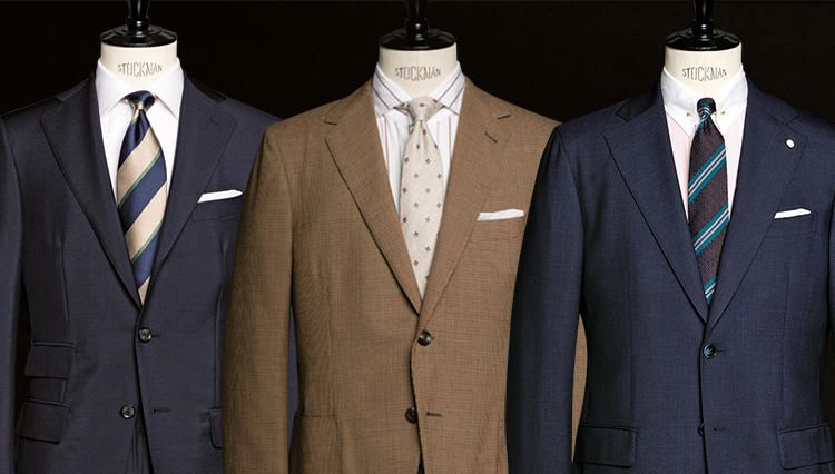 「北イタリアのスーツ」3傑、見所の違いをチェックしてみた