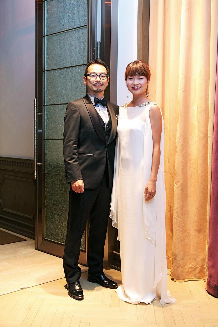 中西 章仁さん、遠藤 理恵さん