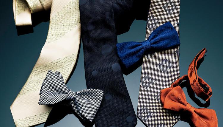 結婚式の2次会や仕事の打ち上げ、パーティに「ライトフォーマル」なネクタイが効く!