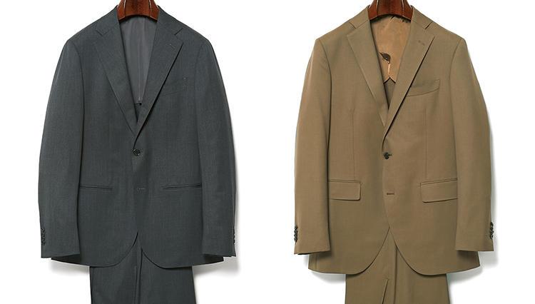 アンダー10万円で買える!「通年着られる」よく出来スーツは、この2着!