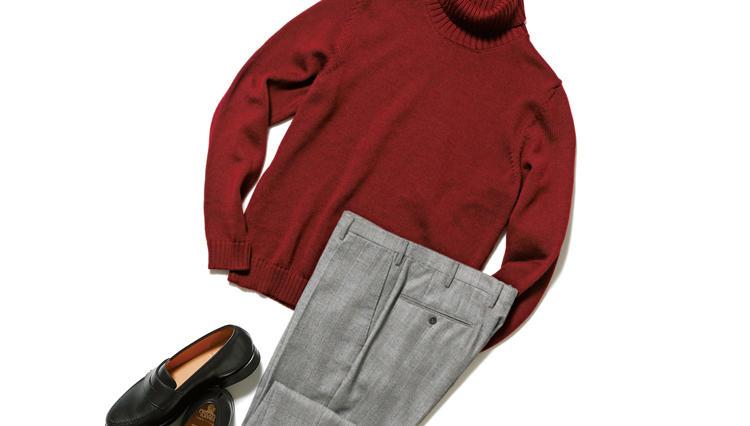 """【""""着回し力""""で選ぶジャケット&パンツ】柄入り「グレーパンツ」なら仕事も休日も個性が際立つ"""