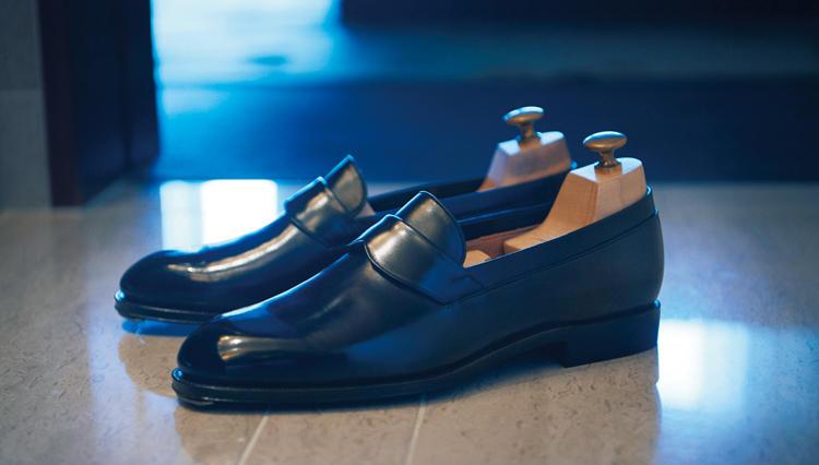 履けば分かる、語り靴【カルマンソロジー】のオペラローファー