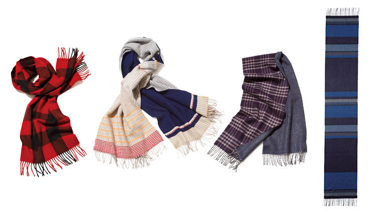 重くなりがちな冬服に旬をもたらす!英国ブランドのマフラー&スカーフ4選