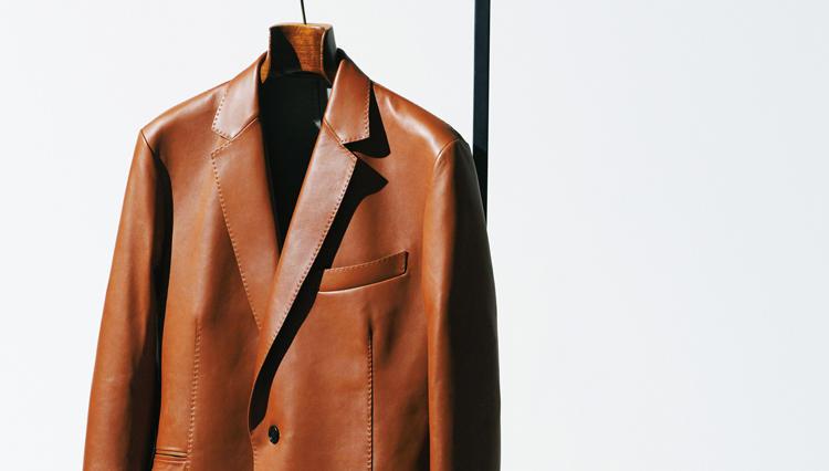 シンプル イズ ベスト、の極み【ベルルッティ】のレザージャケット