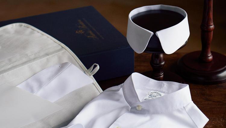 「襟(カラー)コーデが上手です。」ブルックス ブラザーズから3種の襟が付け替えられるシャツが登場