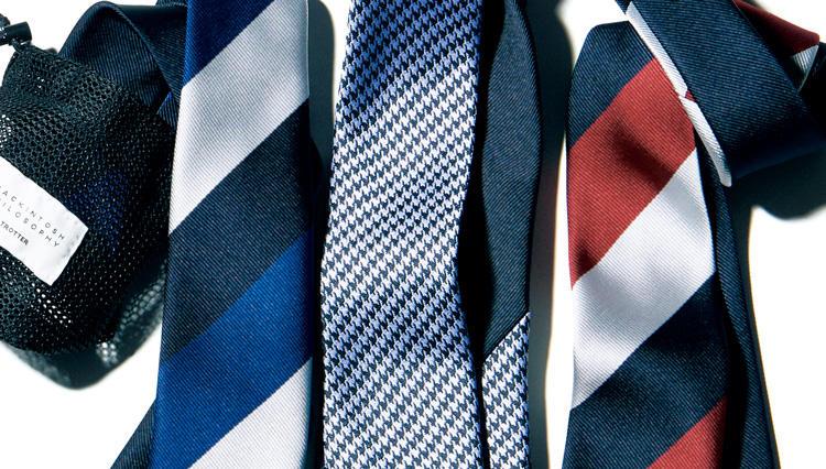 出張に使える! 両A面で洗えてすぐ乾くネクタイがマッキントッシュフィロソフィーから登場