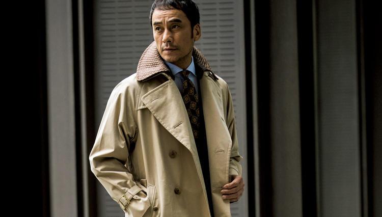 「冬の綿(コットン)」コートを着ると、何故渋くキマるのか?