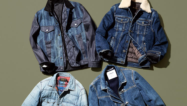 Gジャン人気継続で、冬にも着られる「あったかデニムジャケット」に注目!