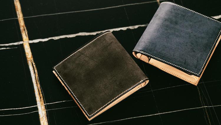 「万双の二つ折り財布」、堅牢かつ上質の秘密は「通常の○倍の革使い」にあり!