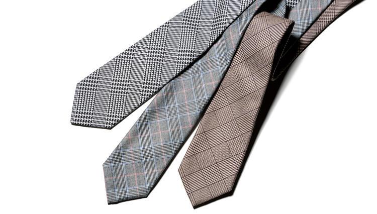 「グレンプレイド」のネクタイがもたらす印象とは?