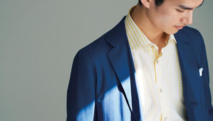 大流行のリラックススーツ、ナポリの最高級ブランド「キートン」が作るとこうなった