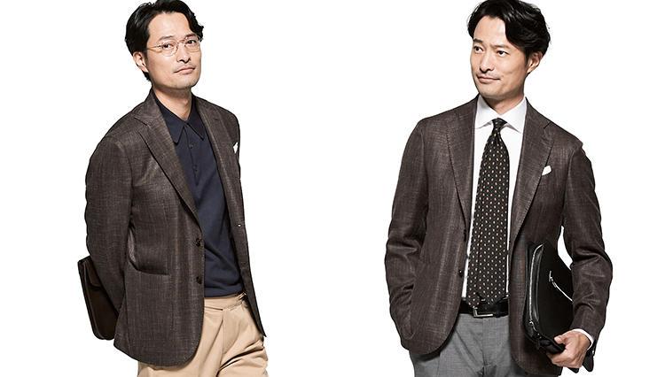 春の「オフィスカジュアル」に最適なジャケットは、こんな色!