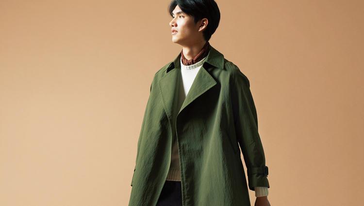 知る人ぞ知るビスポークブランドの既製服「ラ ファーヴォラのラップコート」が美しい
