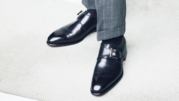 「スーツを格上げするドレス靴」は、どんなタイプ?