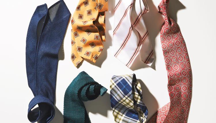 スーツの胸元でひらり、心も踊る「柔らかネクタイ」6選