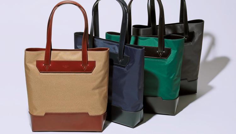 最高峰ブランドの入門として最適! シンプソン ロンドンのコンビ素材鞄【名作予報】