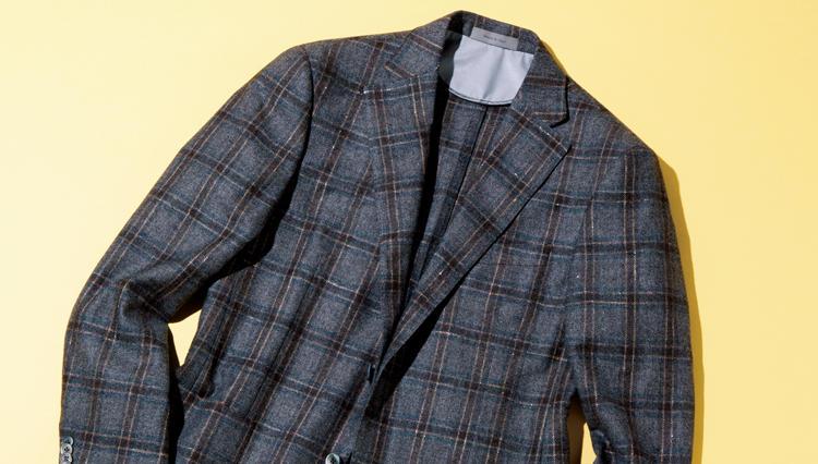 秋冬素材なのに軽やかなコルネリアーニのアンコンジャケット【名作予報】