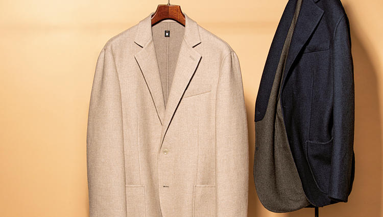 「空気を羽織るような柔らかさ」デザインワークスのダブルフェイスジャケット【名作予報】
