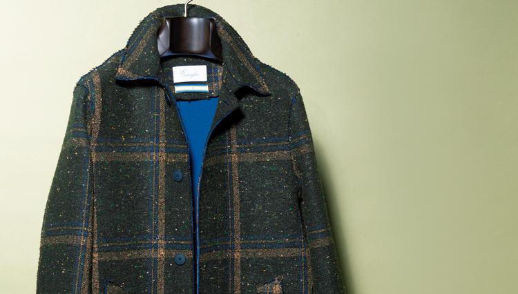 ラフに羽織るだけでお洒落になれる、コロリオ バイ アントレ アミのボンディングコート【名作予報】